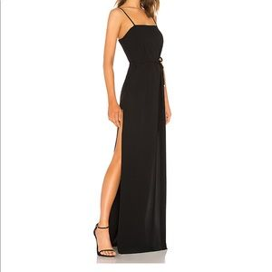 Black long dress cute for prom or formal
